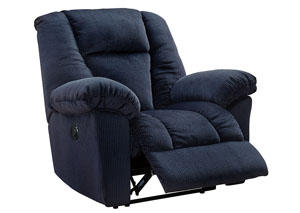 Nimmons Midnight Power Recliner