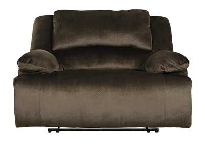 Clonmel Chocolate Zero Wall Wide Seat Recliner,Signature Design By Ashley