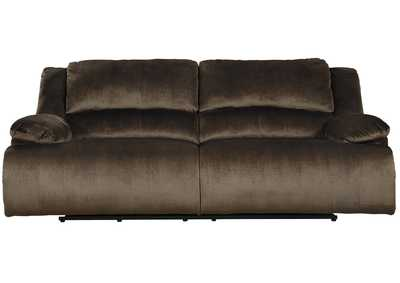 Clonmel Chocolate 2 Seat Power Reclining Sofa