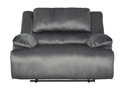 Clonmel Charcoal Zero Wall Wide Power Recliner