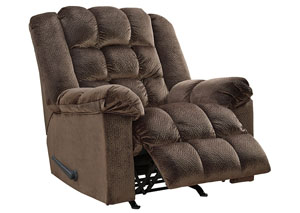 Minturn Mocha Power Rocker Recliner