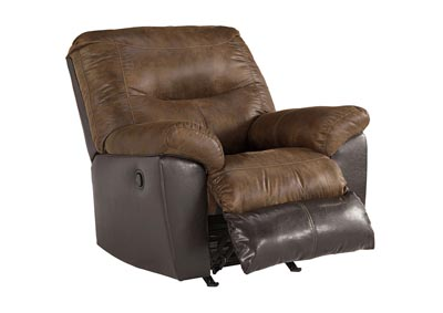 Leonberg Coffee Rocker Recliner