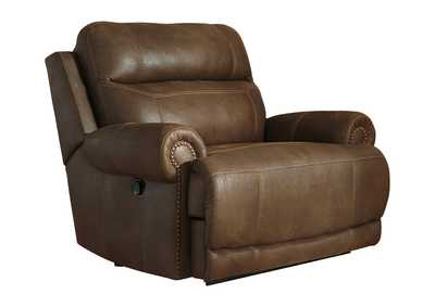 Austere Brown Zero Wall Recliner