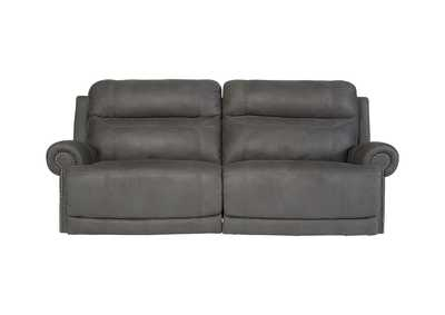 Image for Austere Gray 2 Seat Reclining Sofa
