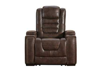 Image for Game Zone Power Recliner w/Adjustable Headrest