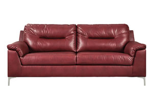 Tensas Crimson Sofa & Loveseat,Signature Design By Ashley