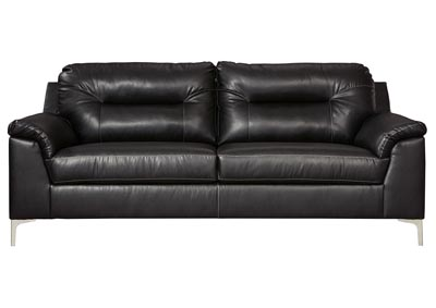 Tensas Black Sofa