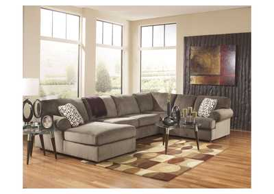 Jessa Place Dune LAF Chaise Sectional