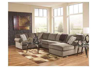 Jessa Place Dune RAF Chaise Sectional