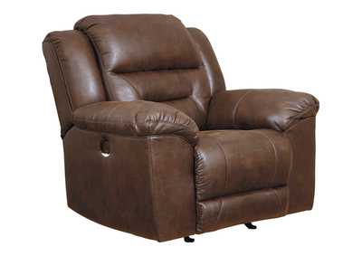 Stoneland Chocolate Power Recliner