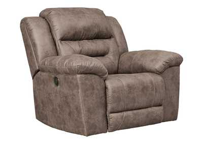 Stoneland Fossil Power Recliner