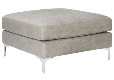 Ryler Steel Oversized Accent Ottoman