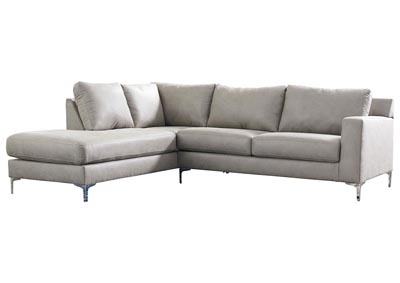 Ryler Steel LAF Chaise Sectional