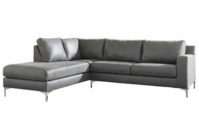 Ryler Charcoal LAF Sofa Chaise