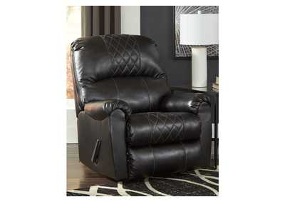 Image for Betrillo Black Recliner