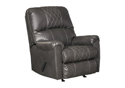 Betrillo Gray Rocker Recliner