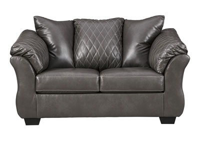 Bertrillo Gray Loveseat