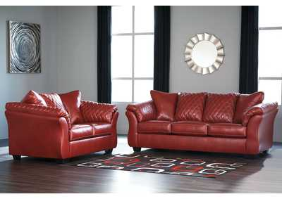 Betrillo Salsa Sofa & Loveseat