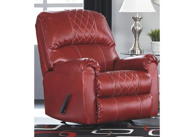 Betrillo Red Recliner