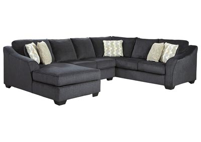 Eltmann Slate LAF Chaise Sectional,Signature Design By Ashley
