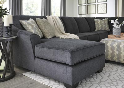 Eltmann Slate 4-Piece Sectional with Chaise,Signature Design By Ashley