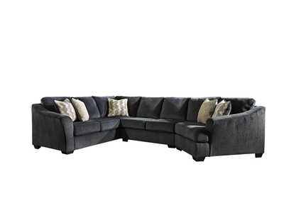 Eltmann Slate Sectional