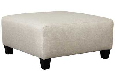 Image for Hallenberg Fog Oversized Accent Ottoman