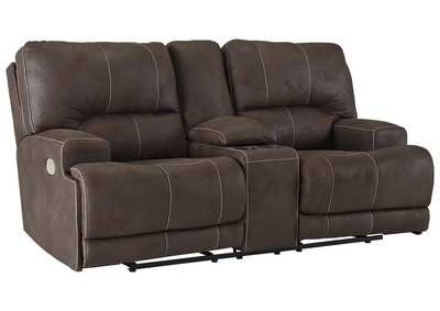 Image for Kitching Java Power Reclining Loveseat