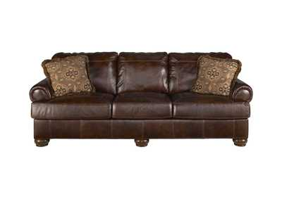 Axiom Walnut Sofa