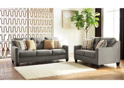 Daylon Graphite Sofa & Loveseat