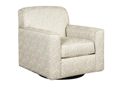 Daylon Graphite Swivel Accent Chair