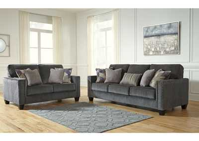 Gavril Smoke Sofa & Loveseat