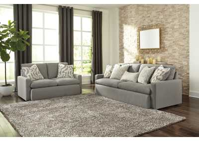 Nandero Mineral Sofa and Loveseat