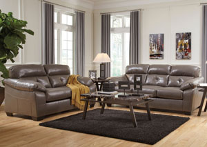 Bastrop DuraBlend Steel Sofa U0026 Loveseat