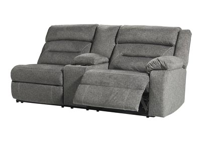 Malmaison RAF Power Reclining Sofa w/Console