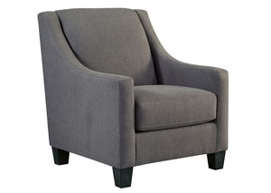 Curly's Furniture Maier Charcoal Left Arm Facing Chaise ...