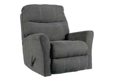 Maier Charcoal Rocker Recliner