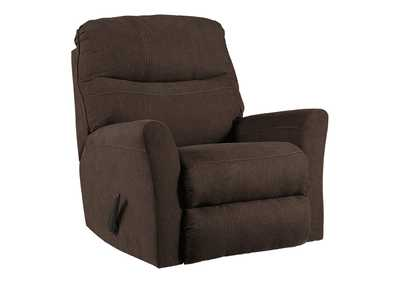 Image for Maier Walnut Rocker Recliner