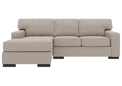 Ashlor Nuvella Slate 2 Piece LAF Chaise Sectional