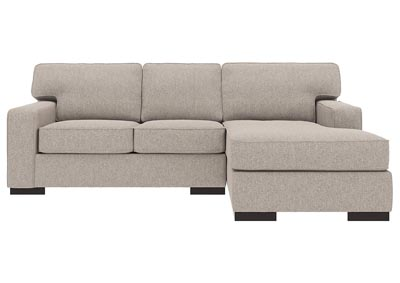 Ashlor Nuvella Slate 2 Piece RAF Chaise Sectional