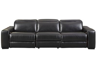 Mantonya Midnight Power Reclining 3 Piece Sectional