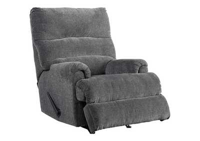 Man Fort Graphite Recliner