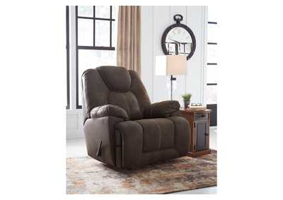 Image for Warrior Fortress Brown Recliner