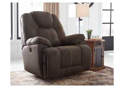 Image for Warrior Fortress Brown Power Recliner