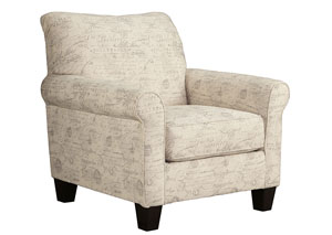 Baveria Fog Accent Chair