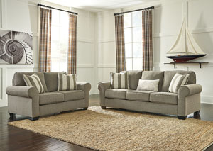 Baveria Fog Sofa & Loveseat