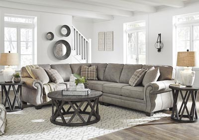 Olsberg Steel RAF Sectional,Signature Design By Ashley