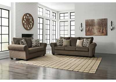 Image for Nesso Walnut Sofa & Loveseat