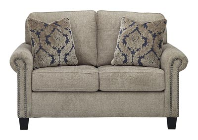 Basiley Pewter Loveseat