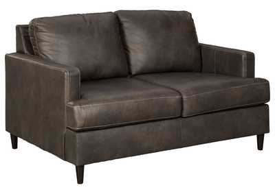 Hettinger Gray Loveseat